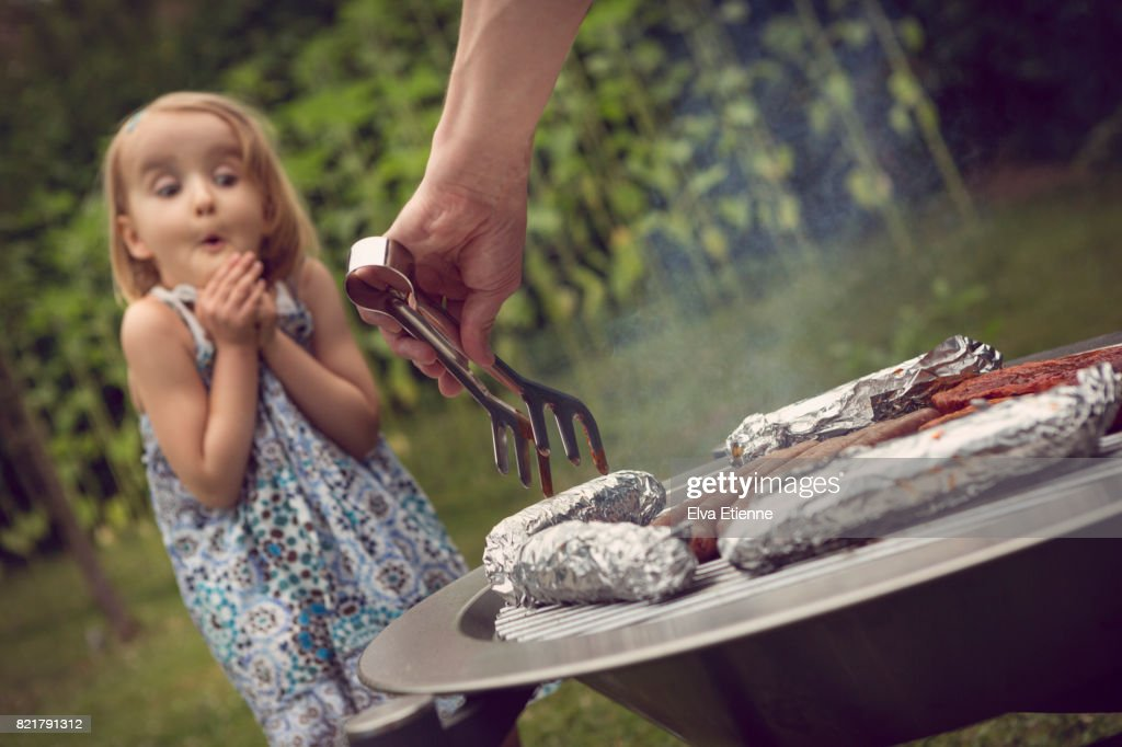 Summer BBQ : Stock Photo