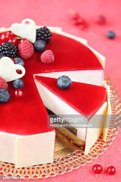 Summer Berries Entremet Cake