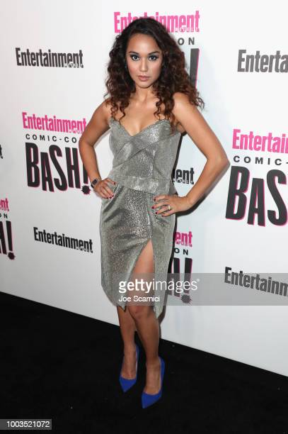Summer Bishil attends Entertainment Weekly's ComicCon Bash held at FLOAT Hard Rock Hotel San Diego on July 21 2018 in San Diego California sponsored...