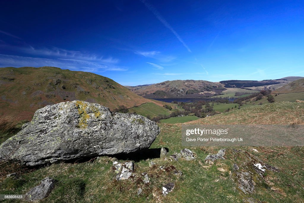 Summer, Boredale valley, Lake District : Stock Photo