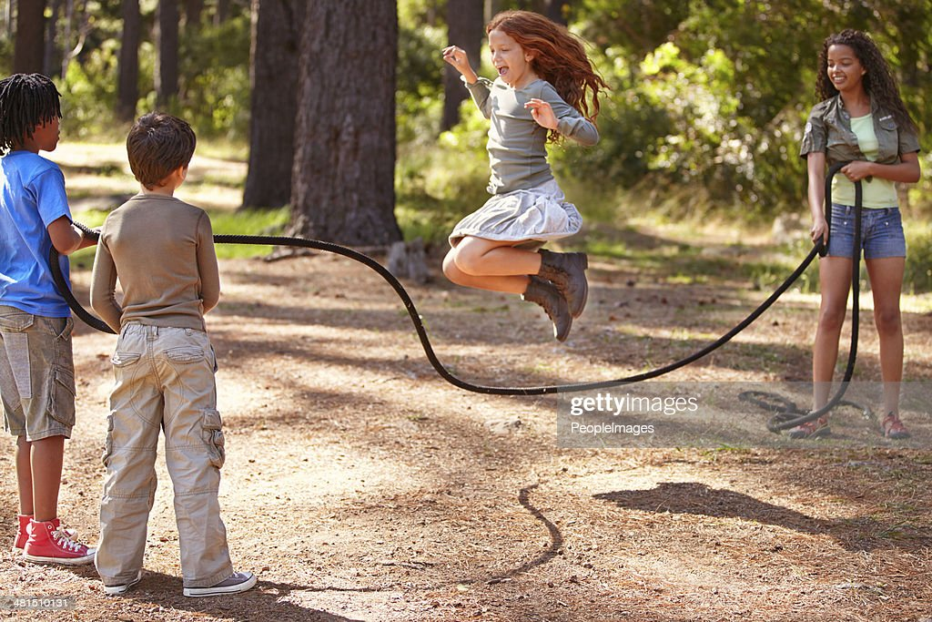 Summer camp is full of fun and friendship : Stock Photo