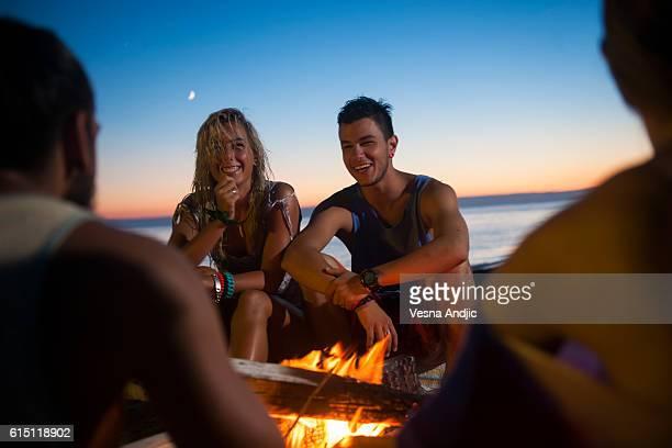 camping d'été