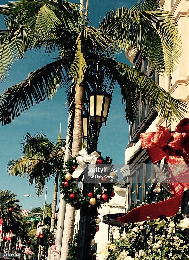 Summer Christmas : Stock Photo