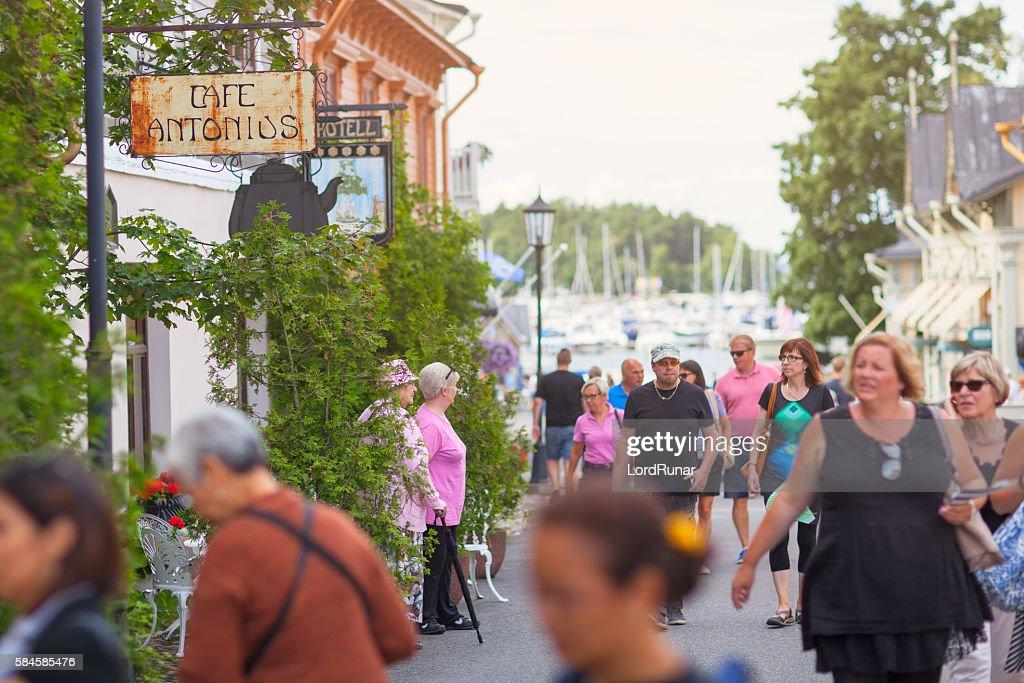Summer Finland City