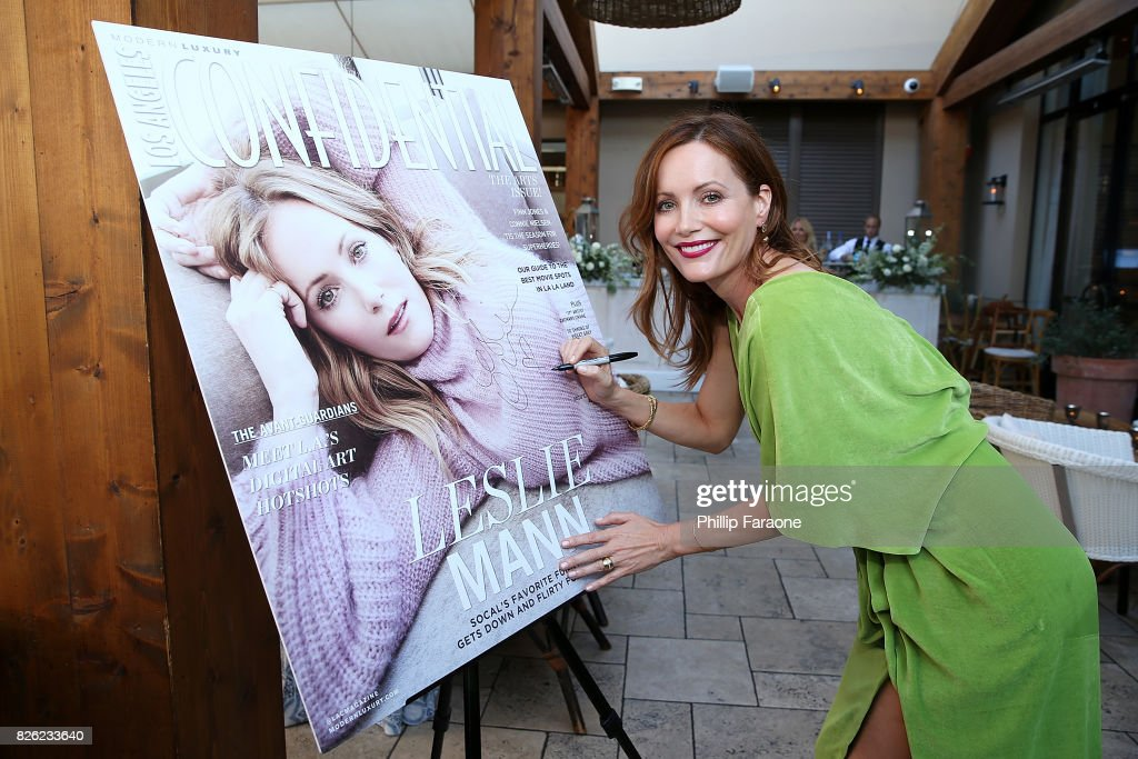 Los Angeles Confidential Celebrates Fashion Island's 50th Anniversary With Summer Cover Star Leslie Mann