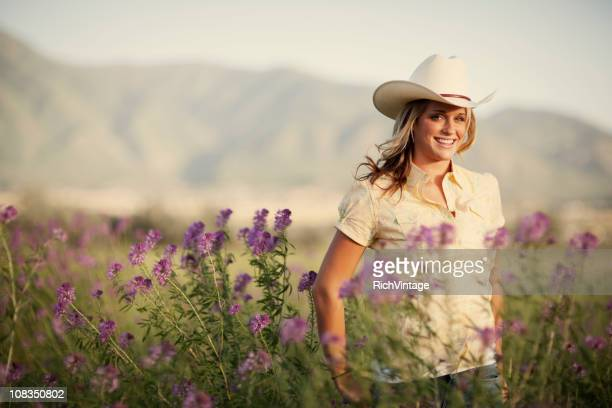 summer cowgirl - ranch stock pictures, royalty-free photos & images