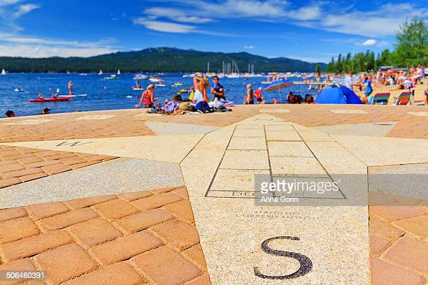 Summer crowds at Payette Lake in McCall, Idaho