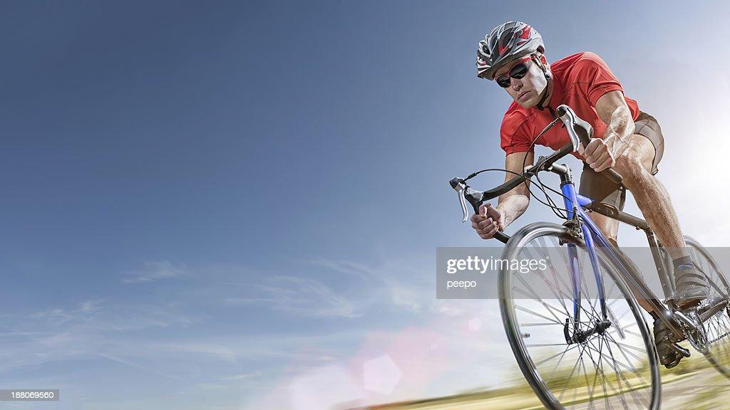 Summer Cycling : Stock Photo
