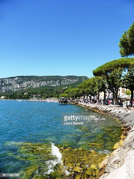 Summer day along lake Garda