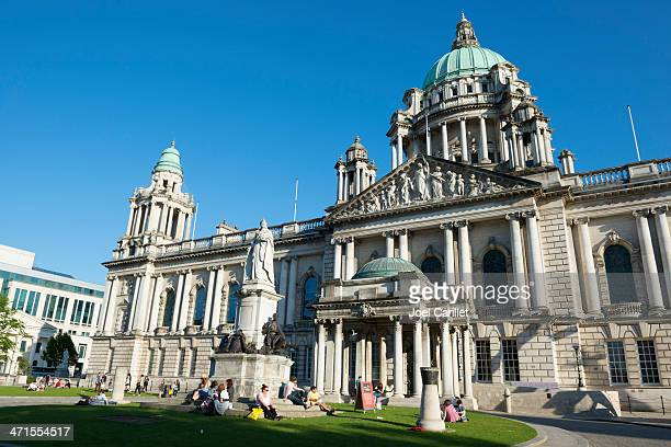 Summer day at Belfast City Hall