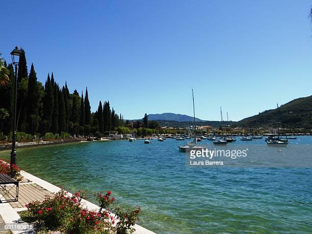 Summer day at lake Garda