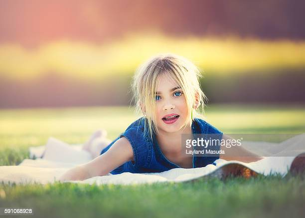 Summer Day - Young Girl