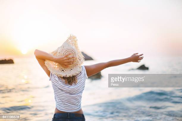 summer days are here - escapism stock photos and pictures