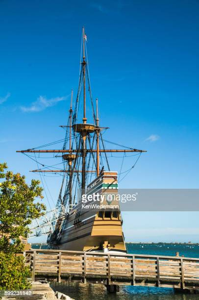 summer dockage - the mayflower stock photos and pictures