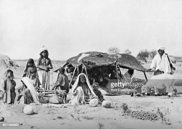 A summer encampment in Balochistan 1902 From The Living Races of Mankind Vol I [Hutchinson Co London 1902] Artist F Bremner