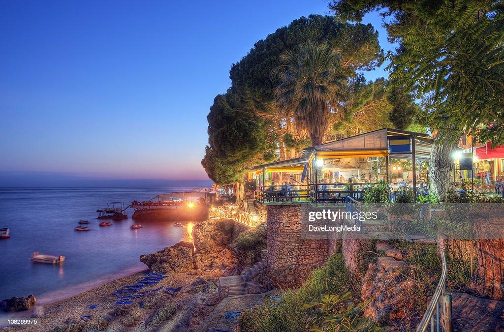 Summer Evening on the Ionian Coast : Stock Photo