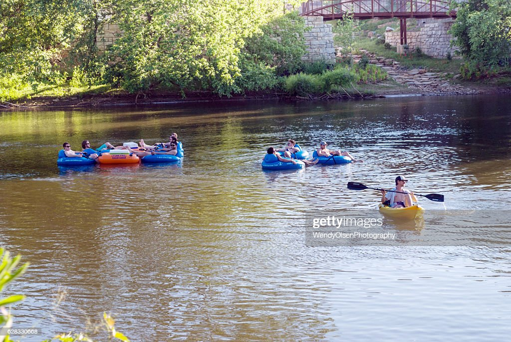 Summer floating sport : Stock Photo