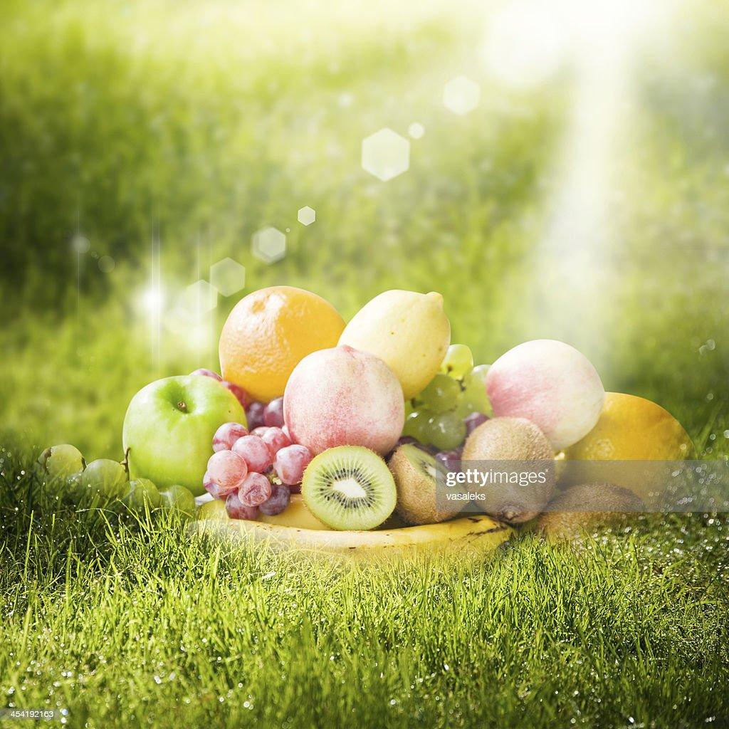 Verão Frutas : Foto de stock