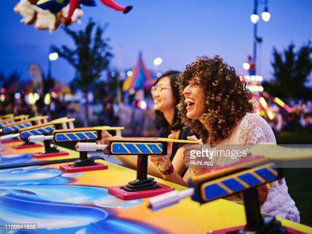 summer fun carnival games - gala stock pictures, royalty-free photos & images