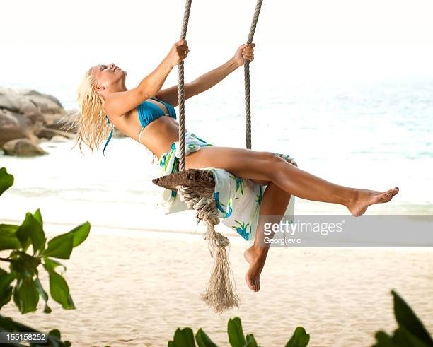 summer fun - beautiful long legs stock pictures, royalty-free photos & images