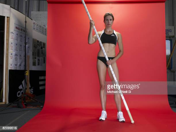ROCHESTER NY Pole vaulter for Team USA Jenn Stuczynski is photographed for Sports Illustrated