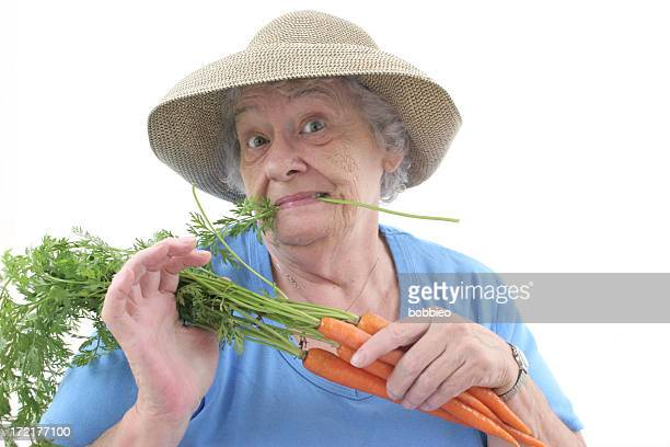jardin d'été - jardinier humour photos et images de collection