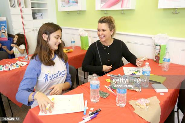 Summer Germann attends the Starlight Children's Foundation's DesignaGown event hosted by Michaels on February 3 2018 in Los Angeles California