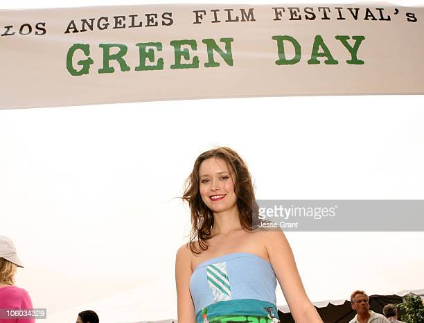 Summer Glau during 2006 Los Angeles Film Festival 'Who Killed The Electric Car' Screening at Landmark Regents Theater in Westwood CA United States