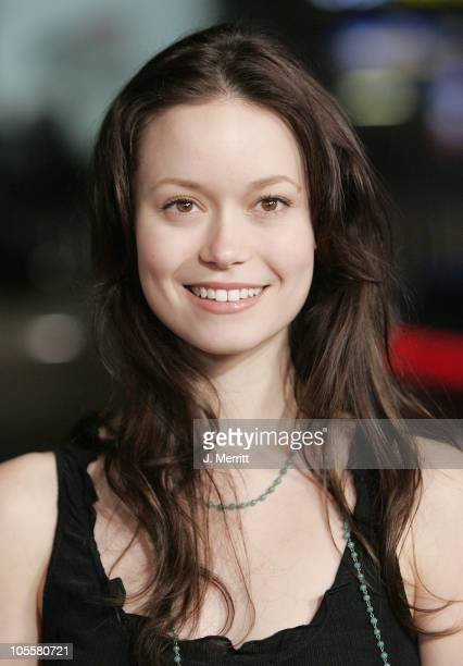 Summer Glau during 'In Good Company' World Premiere Arrivals at Grauman's Chinese Theater in Hollywood California United States