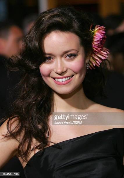 Summer Glau during 'Serenity' Los Angeles Premiere at Universal City Cinemas in Universal City California United States