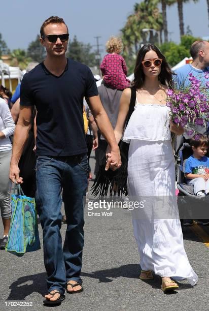 Summer Glau is seen on June 9 2013 in Los Angeles California