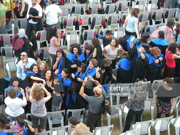 Summer Graduation Ceremony in Haifa University Israel