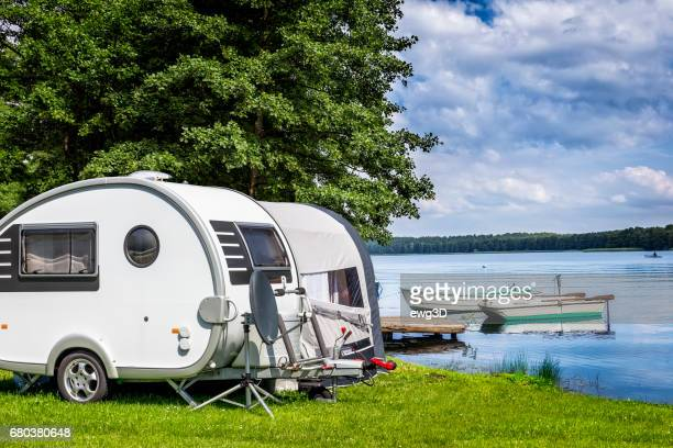 Sommerurlaub am See, Masuren, Polen