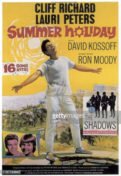 Cliff Richard Lauri Peters Cliff Richard The Shadows 1963