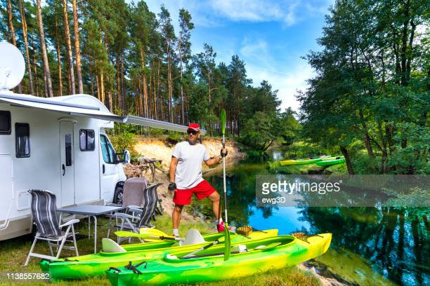 Summer holiday with a canoe in Poland