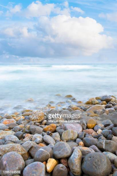 summer in benicassim - benicassim stock pictures, royalty-free photos & images