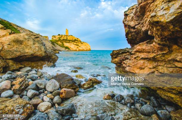 summer in benicassim - castellon de la plana stock pictures, royalty-free photos & images