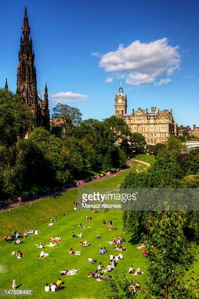 Summer in Edinburgh Scotland