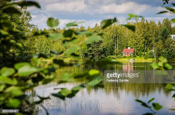 summer in finland - finland stock pictures, royalty-free photos & images