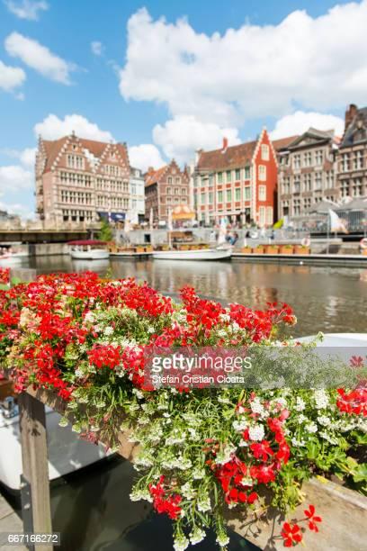 Summer in Ghent (Gent) Belgium