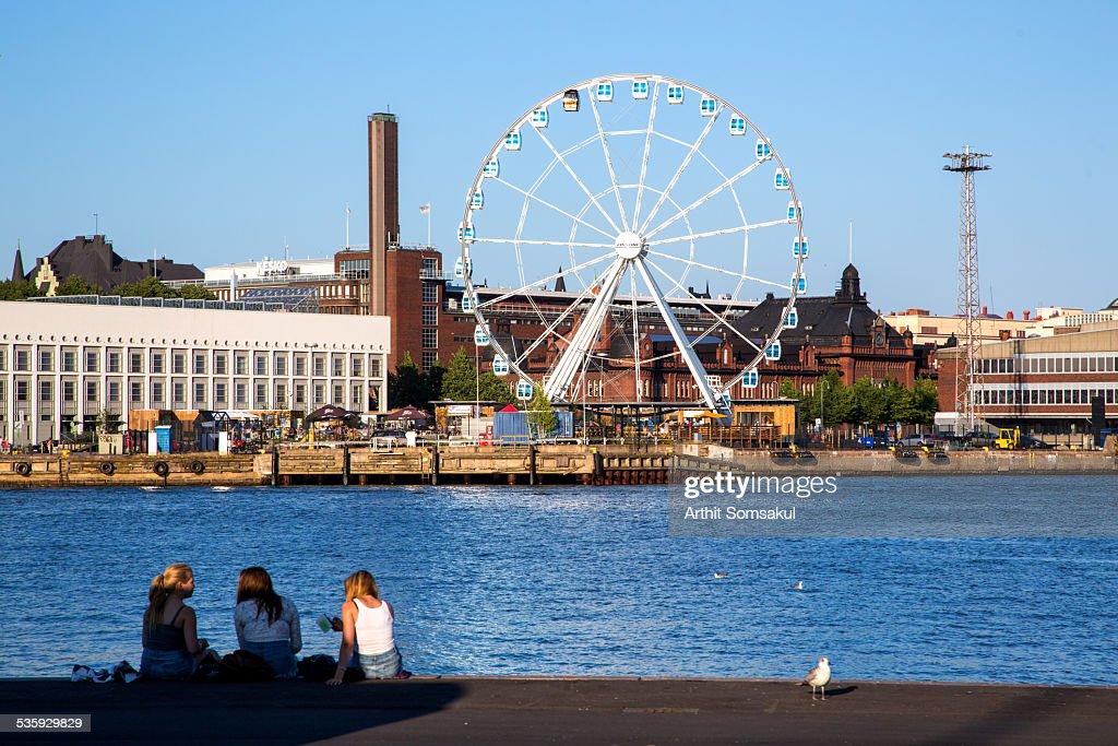Summer in Helsinki, Finland : Stock Photo