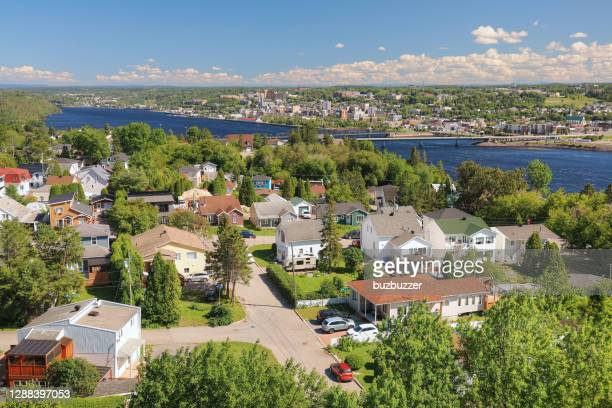 summer in saguenay - buzbuzzer stock pictures, royalty-free photos & images