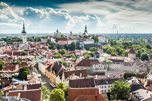 summer in tallinn, estonia - estonia stock pictures, royalty-free photos & images