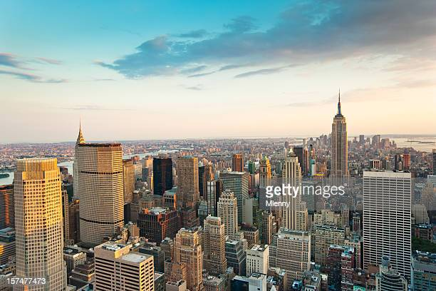 summer in the city new york - observation point stock pictures, royalty-free photos & images