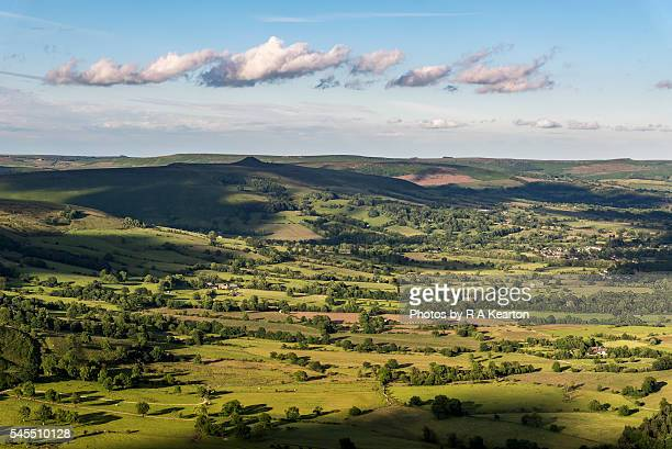 Summer in the Hope valley, Peak District, Derbyshire, England