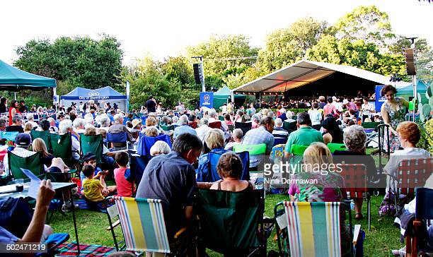 Summer in the park yearly program of the Stonnington Council includes Symphony Under The Stars in Malvern Gardens where the orchestra played for free.
