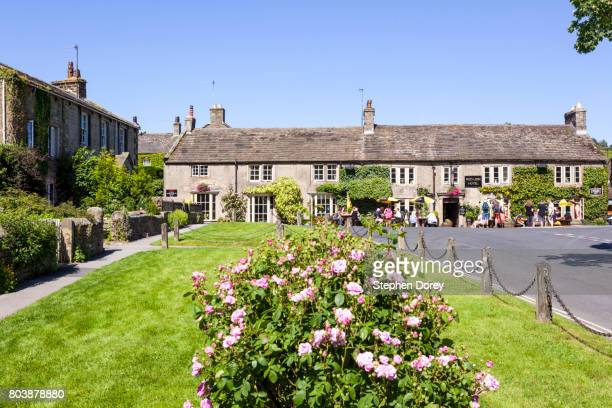 Summer in the Yorkshire Dales - Burnsall in Wharfedale, North Yorkshire UK