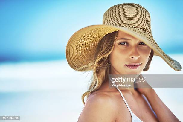 summer is all i need - beautiful beach babes stock photos and pictures