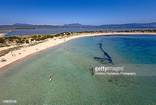 summer is fun - peloponnese stock photos and pictures
