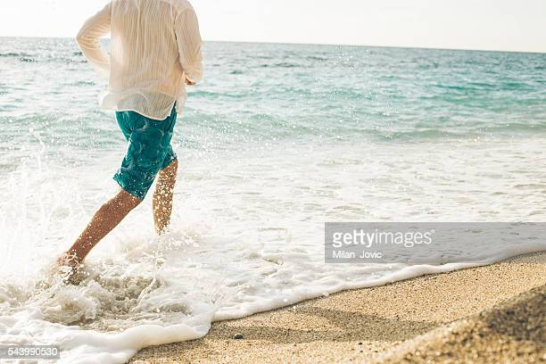 Summer jogging